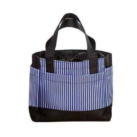 Modisches Bobbel Bag (Blau gestreift)